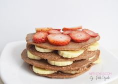 Pancakes de Proteína Saludables, súper fáciles!