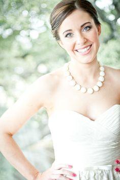WToo Gown and Kendra Scott wedding jewelry