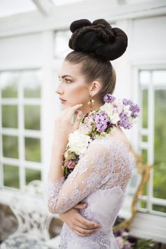 Joanne Fleming Design: Day Dreamers.....wisteria lace, lavender silk and champagne tones for a styled shoot in Norway with the DagDrômmerne team. Photographer; @monamoem