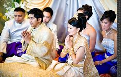 photos of cambodia married couples | Cambodian Marriage