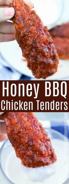 Honey BBQ Chicken Tenders