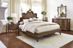 Tyrolean Panel Bed by Fine Furniture Co.
