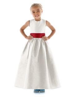 Flower Girl Dress FL4024 (shown in snow white)