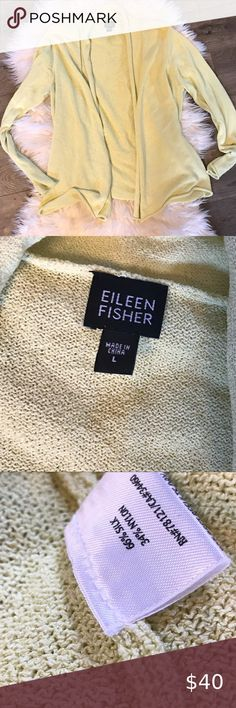 EILEEN FISHER S 6 8 Robe Hooded Wrap Style Pure 100/% Cotton Soft White   NWT