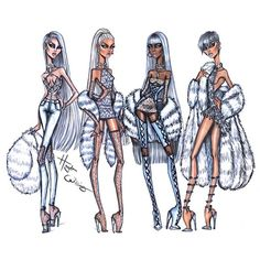 Iced Out, Frost Bite, Frozen & Glacial Glam by Hayden Williams. Which frosty look was your fave?