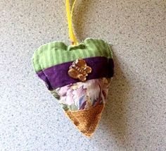 I found this today in Amador City, California on a walk with my friend:) #IFAQH  #ifoundaquiltedheart