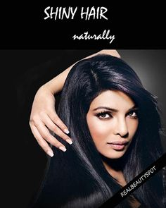 Ways to get healthy shiny hair naturally