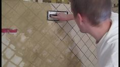 (Part 4) - Shower Tile Grout   Complete bathroom remodel playlist of video's: .......... https://www.youtube.com/playlist?list=PLnfZ3Rt-xEK9Hv5SzyewklePfHRFQmBqJ  --------------------  Full Bathroom Shower Tile & Floor Remodel Parts:  --------------------   Full Video - Shower Floor Tile Cost Grout Faucet .......... https://youtu.be/hLrMDrP4ah8   (Part 1) - Demo Small Bathroom Remodel .......... https://youtu.be/Jxs0Oomja38    (Part 2) - Tile Shower Prep Work…