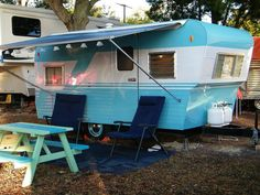 In 1956 we stayed in a trailer like this on the beach in Santa Barbara, Ca.  It was my last vacation with my Mother.