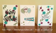 Stampin' Up! Happy Birthday Gorgeous - handmade by Paola Phillips