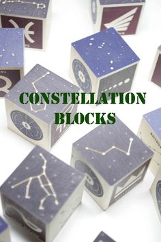 Use blocks to help your kids play their way through learning the different constellations. A fun addition to any block center and play room.
