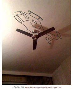 helicopter fan. How clever is that?!