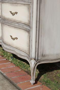 8 best drexel touraine images painted furniture shabby chic rh pinterest com