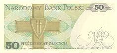 Wertseite: Geldschein-Europa-Mitteleuropa-Polen-Złoty-50.00-1988