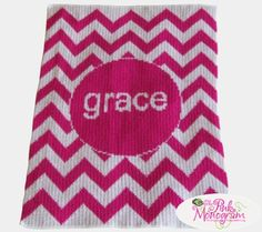 Trendy chevron is featured on this gorgeous personalized baby blanket in your choice of color and is the most perfect baby gift idea. Chevron Baby Blankets, Chevron Blanket, Crib Blanket, Stroller Blanket, Knitted Baby Blankets, Baby Girl Blankets, Soft Blankets, Baby Shower Gifts, Baby Gifts