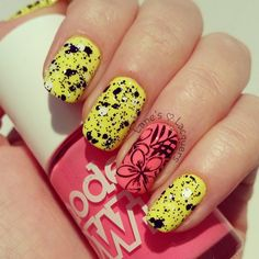 models-own-polish-for-tans-polka-dots-nail-art (2)