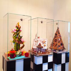 // Festive season offerings in #AndazTokyo #Christmas #PastryShop #Cakes