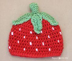 Die Erdbeermützen mach ich für meine Nichten ^.^ suuper süß