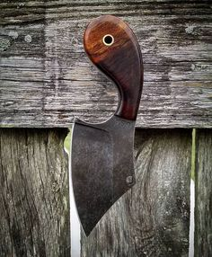 This one will be heading across the pond soon. JSK mini💀REAPER neck knife in Arizona Desert Ironwood for Cool Knives, Knives And Tools, Knives And Swords, Forging Knives, Skinning Knives, Cleaver Knife, Knife Template, Knife Making Tools, Hand Forged Knife