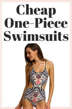 No one likes shopping for flattering one-piece swimsuits, so I'm doing it for you! Shop my complete list of the best cheap one-piece swimsuits online!