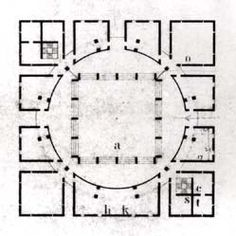 Louis I. Kahn / First Unitarian Church Collection - Architectural Archives, University of Pennsylvania - Philadelphia Architects and Buildings Architecture Drawing Plan, Concept Architecture, School Architecture, Architecture Details, Louis Kahn, The Plan, How To Plan, Georgian Architecture, Classical Architecture