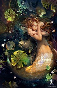 Show us your favorite mermaid artwork! (warning, pic heavy!)