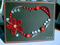 Valentine's Day Card - quilling