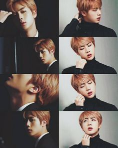 "Kim Seokjin evolution:  ""Handsome Car Door Guy"" to ""Third one/guy from the left"" to ""Worldwide Handsome"" to ""SonOfAFamousCEO"" to.. what's next?"
