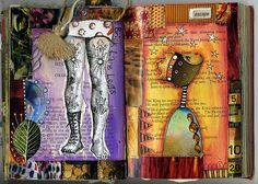 Gorgeous work   Journal - 30 by Phizzychick!, via Flickr