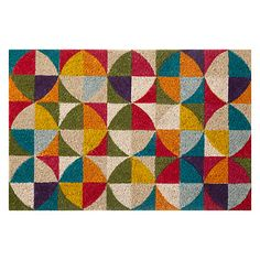 Buy John Lewis Pixel Doormat, L50 x W75cm, Multi Online at johnlewis.com