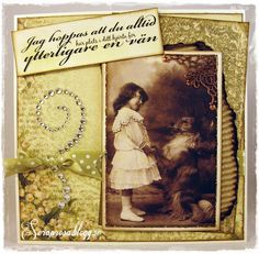 Vintage card for a friend by DT Rosa  http://blog.pysseldags.com/2013/02/har-du-plats-for-en-till-van.html http://shop.pysseldags.se