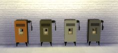MIA Pellet Stove [Fireplace] - Sims 4 Designs