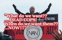 Al Sharpton has spent the last 6 weeks stirring the fires of racial hatred towards police, and in the wake of two murdered police officers over the weekend, he has begun receiving death threats. So, what does Al Sharpton want now? POLICE PROTECTION...when does he want it? NOW! #AllLivesMatter #AlSharpton http://www.nowtheendbegins.com/blog/?p=29363