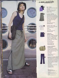 NEED a bucket hat and a stiff, straight af maxi skirt Fashion Mag, 90s Fashion, Retro Fashion, Fashion Photo, Vintage Fashion, Fashion Outfits, Fashion Design, Fashion Trends, Pretty Outfits