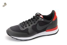 Nike Women's Wmns Internationalist TP, BLACK/BLACK-CHALLENGE RED-WHITE, 7.5 US - Nike sneakers for women (*Amazon Partner-Link)