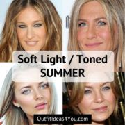 Toned Summer / Soft Summer Light - Seasonal Color Analysisi