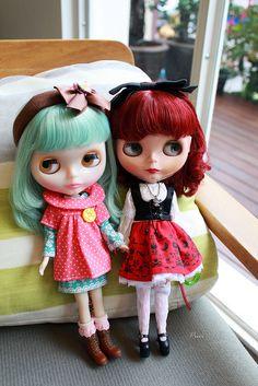 Blythe Doll Best Friends.