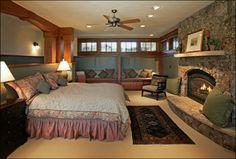 Lynne Barton Bier - Home on the Range Interiors craftsman-bedroom
