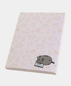Writer Pusheen notepad - Hey Chickadee