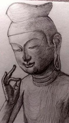 仏像。広隆寺弥勒菩薩。