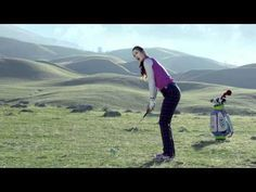Michelle Wie's 2012 Vessel custom golf bag makes a cameo in Kia Soul commercial. #golfer #lpga