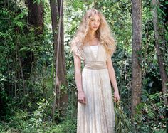 Bridal Gown Lace wedding dress Bride Lace Dress by mimetik on Etsy