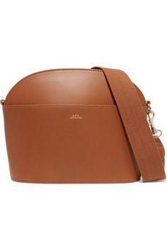 3d91bc4eef40 A.P.C. Atelier de Production et de Création - Gaby leather shoulder bag.  Cute BagsMichael Kors ...
