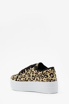 Animal Instinct Platform Sneaker