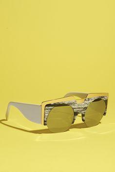 Round sunglasses | B56
