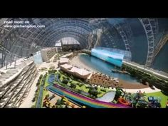 The largest building in the world: New Century Global Center in Chengdu:  The New Century Global Center boasts a mammoth 1.7 million sq m (almost 19 million sq ft) of indoor space, which is four fifths the size of Monaco.