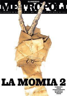 La Momia 2 (The Mummy II), 2001. Ilustración de José Belmonte.