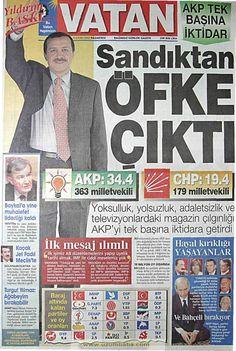 Vatan gazetesi 4 kasım 2002