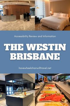 As a city, Brisbane has been lucky to have several new hotels with accessible accommodation open in recent years. On my last visit I stayed at the Westin Brisbane. It came highly recommended and has some lovely accessible features. Located in the heart of Brisbane it was a quick walk to the Queen Street Mall area and close enough to access the South Bank precinct if we'd had more time for exploring... Brisbane City, Queensland Australia, Things To Do In Brisbane, Find Hotels, Sunshine Coast, Gold Coast, Night Life, The Good Place, Beautiful Places
