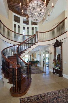 Old World, Gothic, and Victorian Interior Design: Fabulous foyers